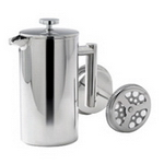 Double Walled Stainless Plunger, Cups and Mugs