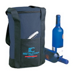 2 Bottle Cooler Bag , Beverage Gear