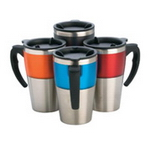 Coloured Travel Mugs , Cups and Mugs
