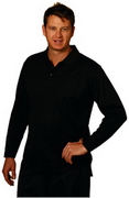 Long Sleeve Zhongyi Polo, Clothing