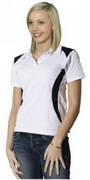 Ladies' TrueDry Contrast Polo , Clothing