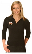 Ladies' 3/4 Sleeve Length Polo , Clothing