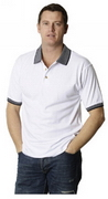 Drop Needle Interlock Polo , Clothing