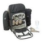 4 Setting Picnic Backpack , Wine and Hospitality