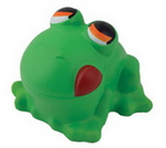 Croaking Frog Stress Toy , Stress Shapes