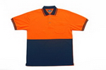 Short Sleeve Hi-Vis Polo , Clothing